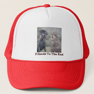 """""""Friends To The End"""" Trucker Hat"""