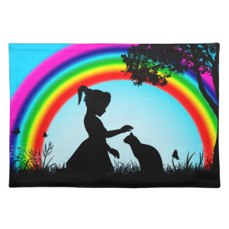 Friends under the Rainbow Placemat