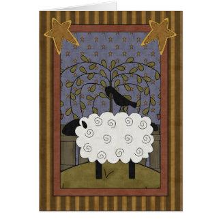 Friendship Ewe Sheep Greeting Card
