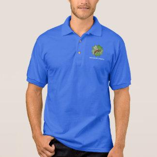Friendship Gardens Logo- Blue Polo Shirt