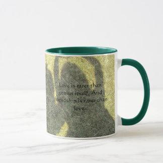 Friendship is Rare Ringer Mugs