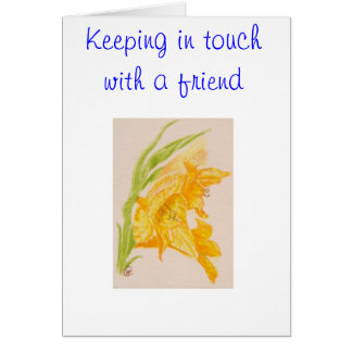 FRIENDSHIP NOTE CARD