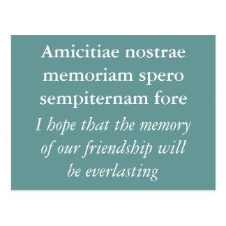 Friendship Postcard