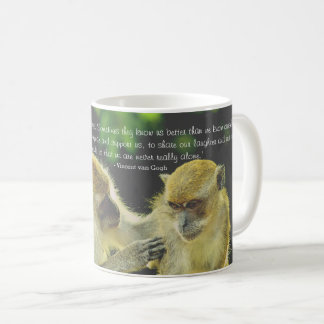 Friendship Quote by Vincent van Gogh Coffee Mug