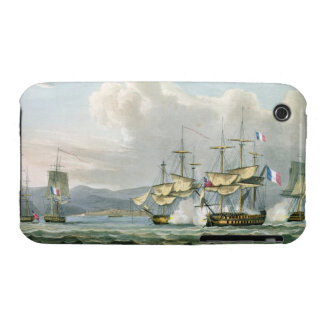 Frigate action in Vizagapatam Roads, off India, 18 iPhone 3 Cases
