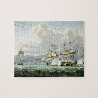 Frigate action in Vizagapatam Roads, off India, 18 Jigsaw Puzzle