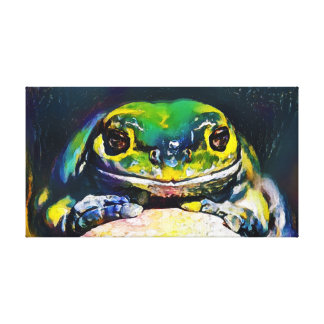 Frog - Art On Canvas