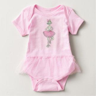 Frog Ballerina Tutu Baby Bodysuit