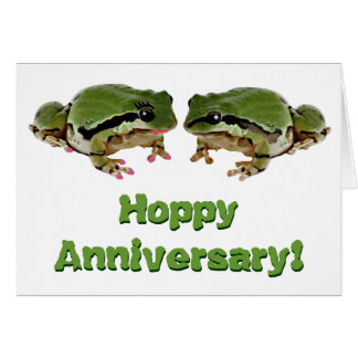 Frog Couple Card