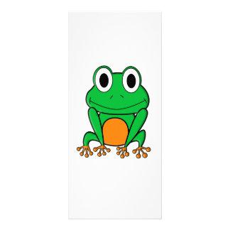 Frog Customized Rack Card