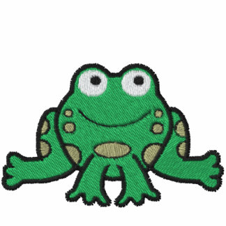 Frog Embroidered Shirt
