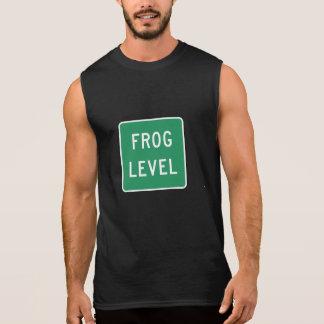 Frog Level, Road Marker, Virginia, USA Sleeveless Shirt