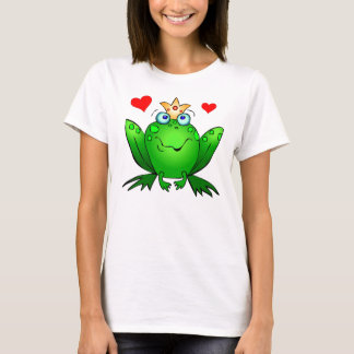 Frog Prince Cute Green Fairy Tale Frog T-Shirt