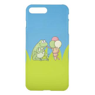 Frog with Icecream iPhone 8 Plus/7 Plus Case