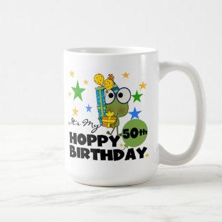 Froggie Hoppy 50th Birthday Coffee Mug