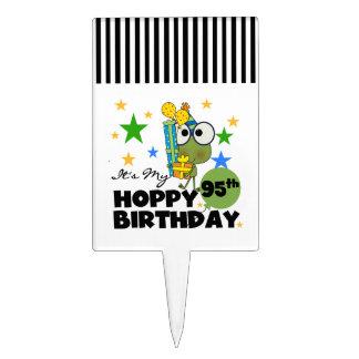 Froggie Hoppy 95th Birthday Cake Picks