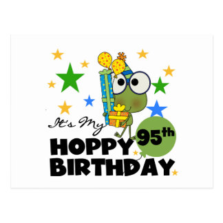 Froggie Hoppy 95th Birthday Postcards