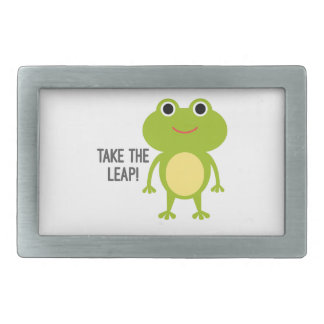 Froggy Pewter Belt Buckle