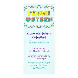 Frohe Ostern Invites