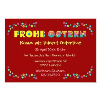 Frohe Ostern Invitations