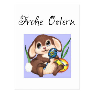 Frohe Ostern Postcard