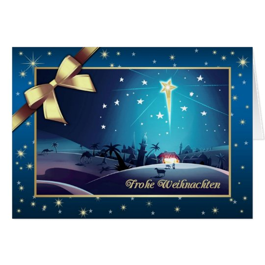frohe weihnachten german christmas cards zazzle. Black Bedroom Furniture Sets. Home Design Ideas