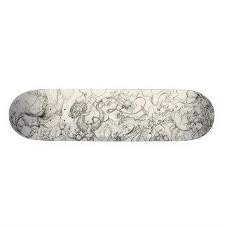 From my sketch book 1 skateboard deck