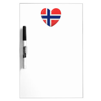 From Norway With Love Dry Erase Board