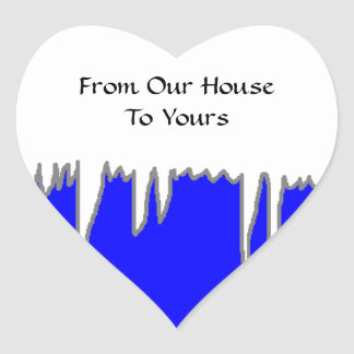 From Our House To Yours -Holiday Greeting Stickers