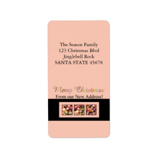 From our new Home pastel ornaments Address Label