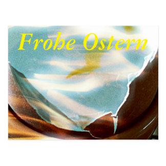 From the egg gepellt postcard