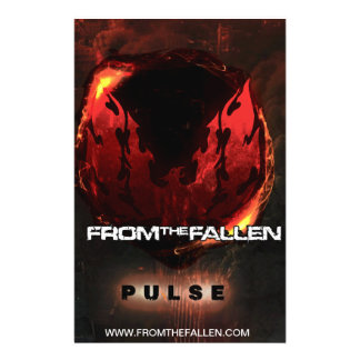 From the Fallen - Pulse Logo Poster 14 Cm X 21.5 Cm Flyer