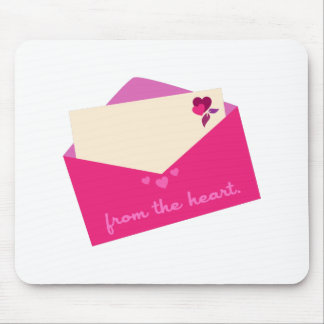From The Heart Mouse Pad