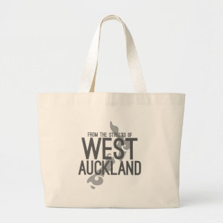 From the Streets of West Auckland Large Tote Bag