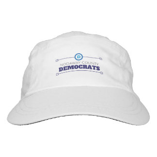 Front and back Nodaway County Dems Performance Hat