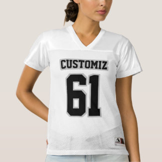 Front BLACK SILVER GRAY WHITE Womens Sports Jersey