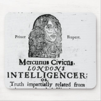 Front page from 'Mercurius Civicus' Mouse Pad
