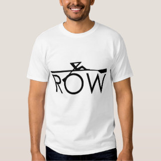 Front Row Back Hoe Tshirt