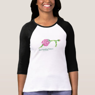 (Front-Stretching Posture I) Women 3/4 Sleeve Tee