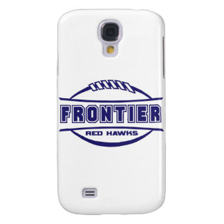 Frontier Red Hawks Logo final 1 color Navy Galaxy S4 Cover