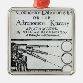 Frontispiece Confidence Dismounted;Astronomer Christmas Ornament