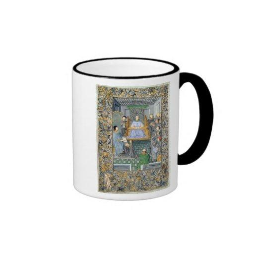 Frontispiece of Antonio de Nebrija's  'Gramatica' Coffee Mug