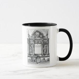 Frontispiece to 'Monasticon Anglicanum' Mug