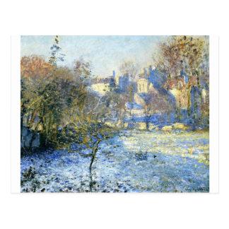 Frost by Claude Monet Postcard