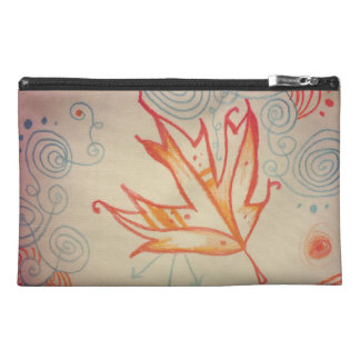 Frost Torn Two-Tone Travel Accessory Bag