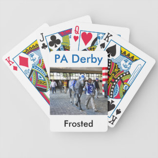 Frosted the Pennsylvania Derby Winner Bicycle Playing Cards