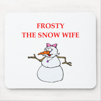 FROSTY MOUSE PAD