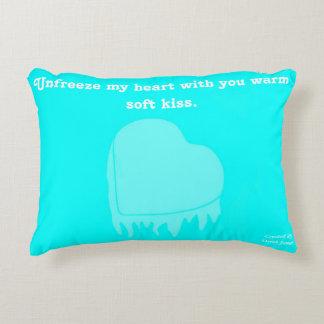 Frozen Heart Accent Pillow