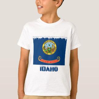 Frozen Idaho Flag T-Shirt