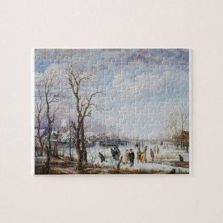 Frozen river Puzzle